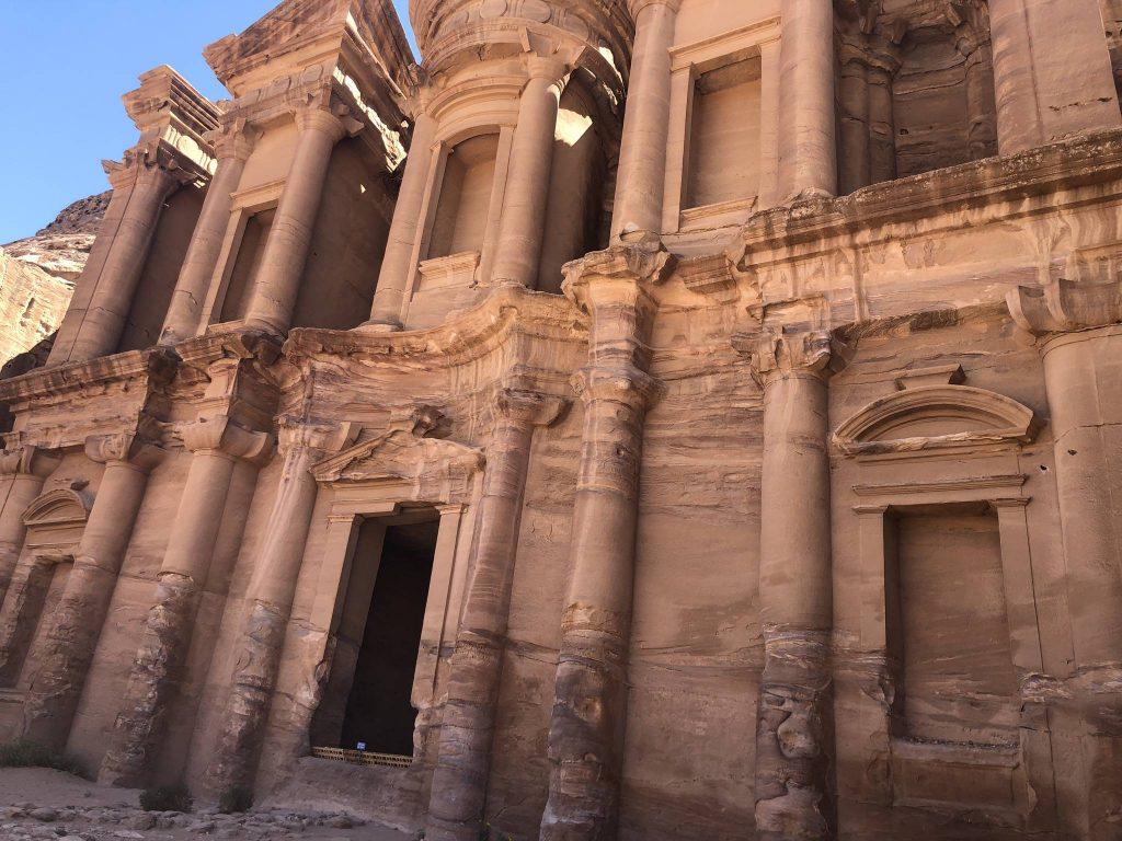 jordanie petra monastry