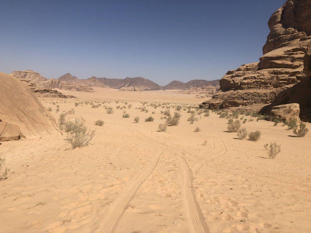 jordanie wadi rum woestijn