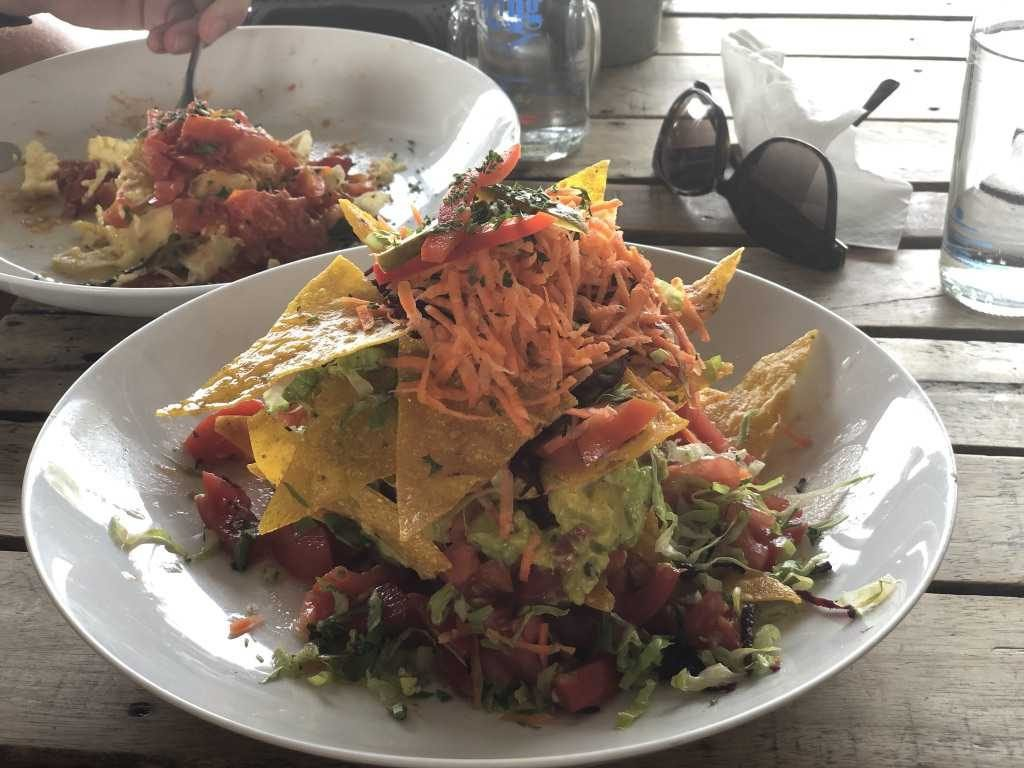 vegan nachos crate cafe