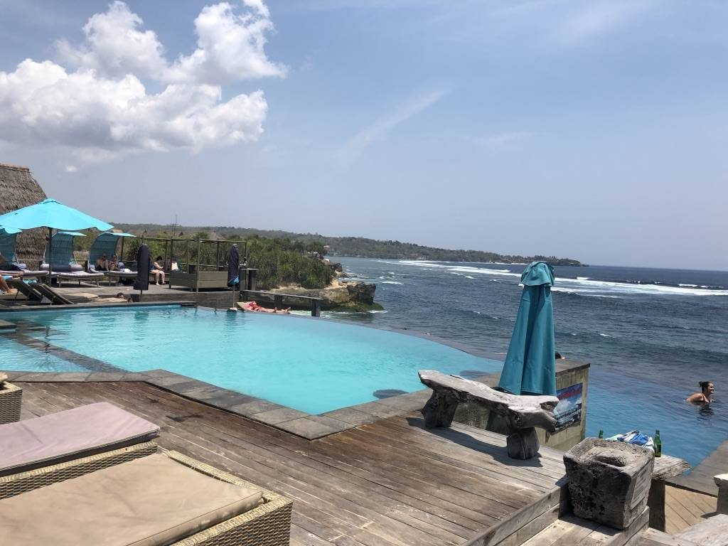 Dream Beach op Nusa Lembongan