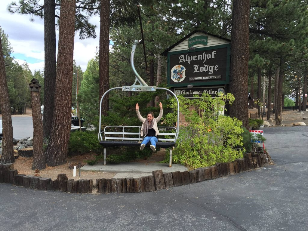 roadtrip amerika - mammoth lakes