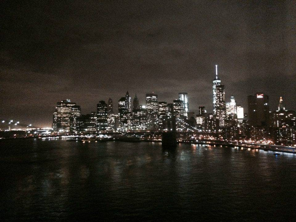 new york city - skyline avond