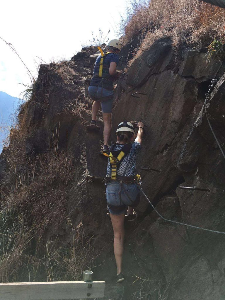 rondreis peru - ziplining