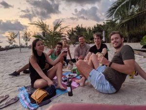 verjaardag strand