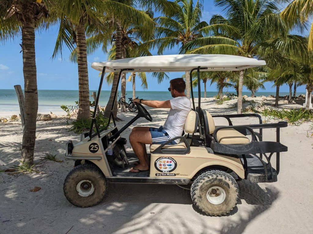 golf cart holbox