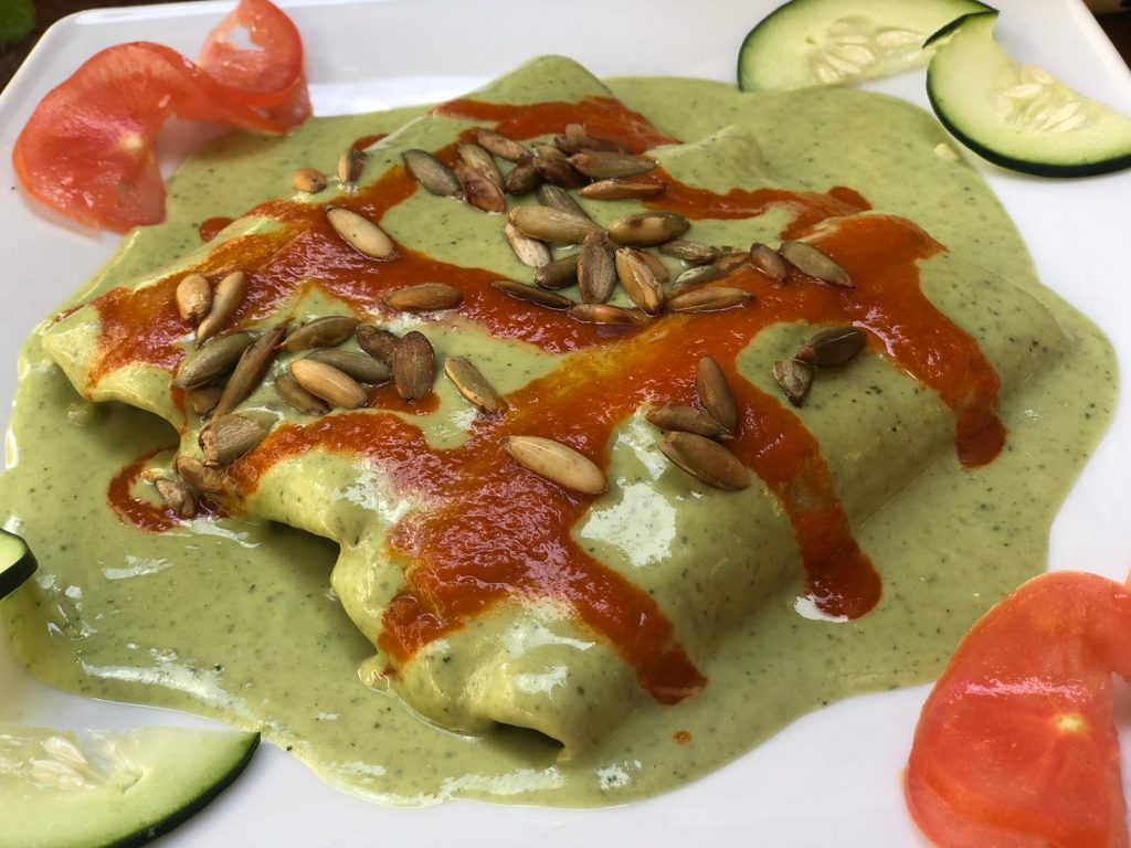 Curry mais tortilla's