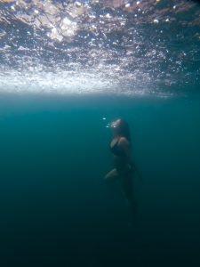 onder water in een cenote