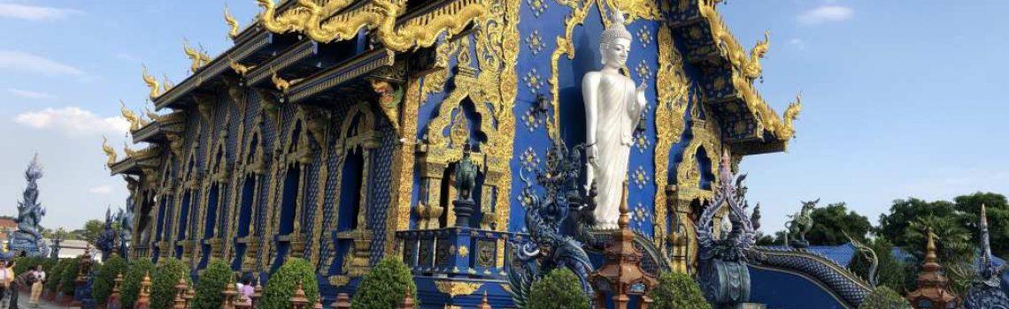 blauwe tempel chiang rai