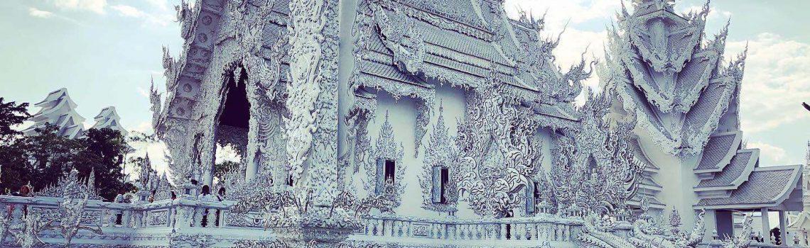 chiang rai witte tempel